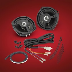 """5 1//2/"""" Two-Way Speakers for 2001-17 Honda GL1800 Goldwing Front 13-106 Pair"""